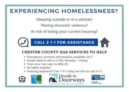Homelessness Hotline
