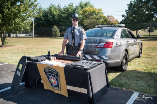 PA State Police Staff Table